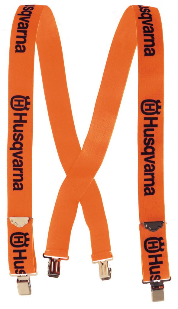 HUSQVARNA hängslen med clips