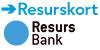 Betala med Resurs kort