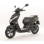 Kisbee 4-takt Mad black moped