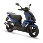 Speedfighter deep ocean blue moped